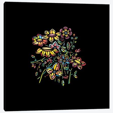 Bouquet Canvas Print #NIN11} by Ninhol Art Print