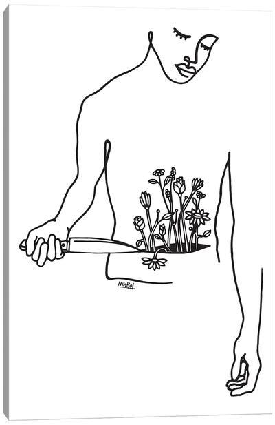 Inner Body Canvas Art Print