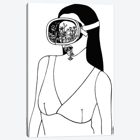 Breath Canvas Print #NIN13} by Ninhol Canvas Art Print