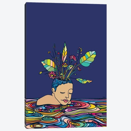 Spring Head Canvas Print #NIN143} by Ninhol Canvas Artwork