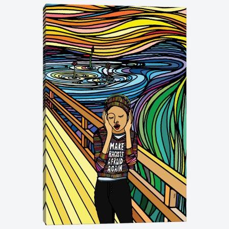 The Scream Canvas Print #NIN146} by Ninhol Canvas Print