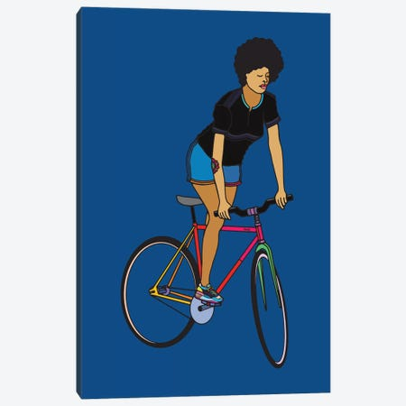 Track Stand Canvas Print #NIN148} by Ninhol Canvas Wall Art