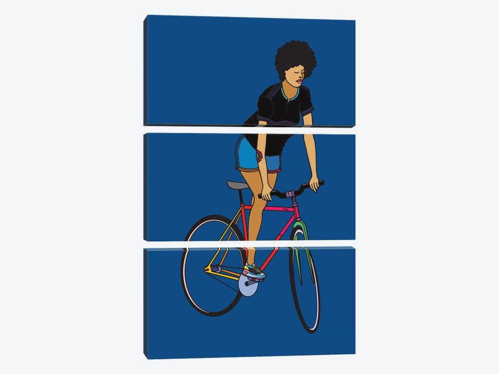 Track Stand by Ninhol 3-piece Canvas Artwork