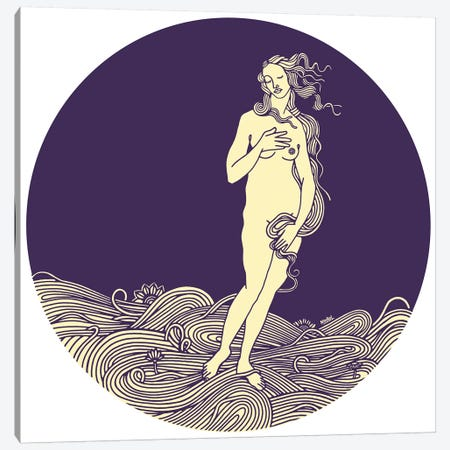 Venus Canvas Print #NIN150} by Ninhol Canvas Print