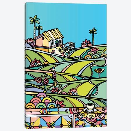 Coffee Farm Canvas Print #NIN16} by Ninhol Canvas Artwork