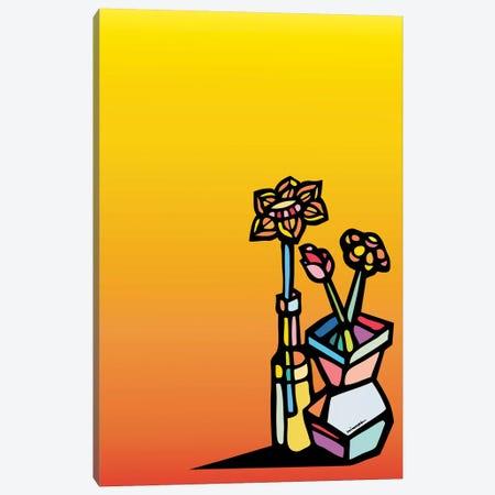 Flores Canvas Print #NIN21} by Ninhol Canvas Wall Art