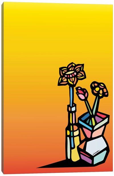 Flores Canvas Art Print