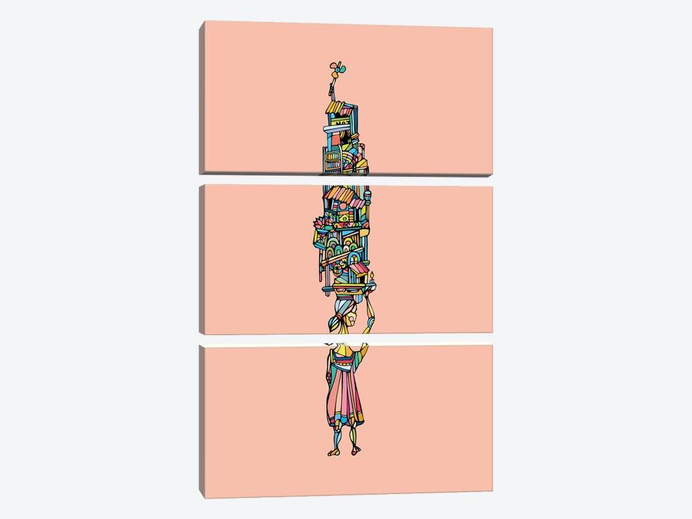 Flower by Ninhol 3-piece Canvas Art