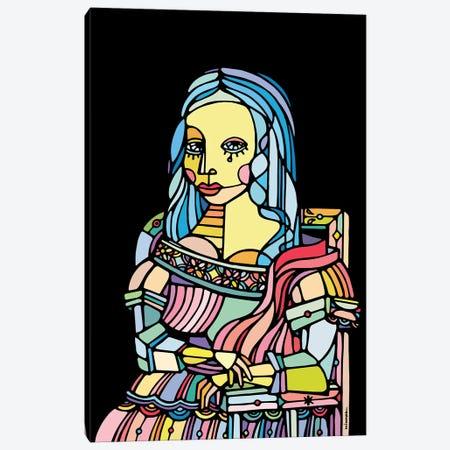 Gioconda Canvas Print #NIN26} by Ninhol Canvas Art Print