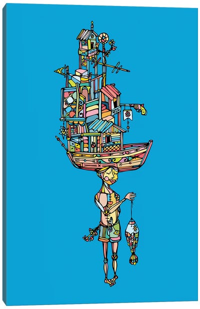 Guaru Canvas Art Print