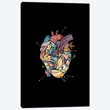 Heart Canvas Print #NIN29} by Ninhol Canvas Art