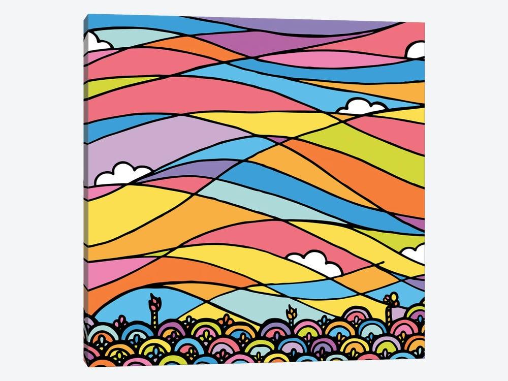 Horizon by Ninhol 1-piece Canvas Wall Art