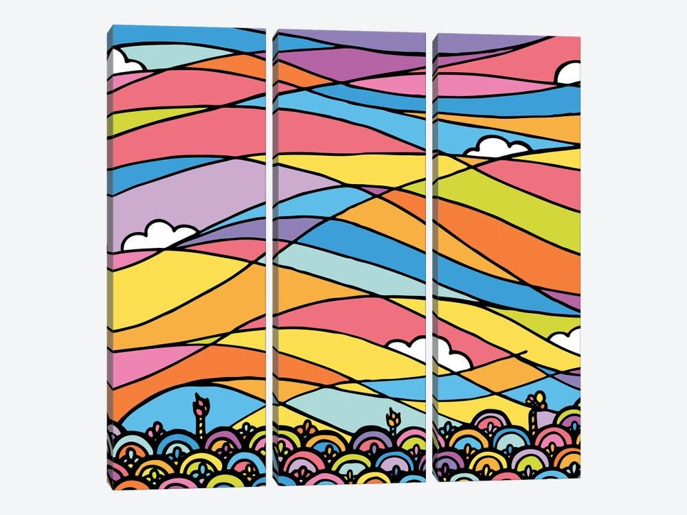 Horizon by Ninhol 3-piece Canvas Wall Art