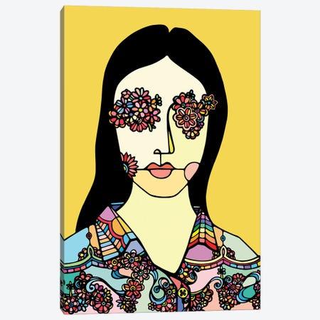 I See Flowers Canvas Print #NIN32} by Ninhol Art Print