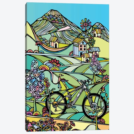 Ride Or Die Canvas Print #NIN53} by Ninhol Art Print