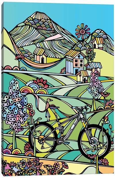 Ride Or Die Canvas Art Print