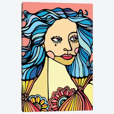 Girl Canvas Print #NIN5} by Ninhol Canvas Wall Art