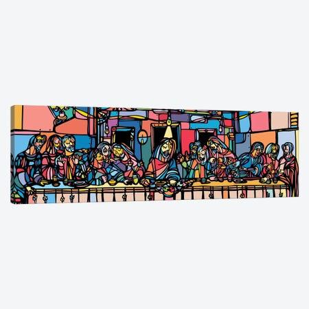 The Last Supper Canvas Print #NIN60} by Ninhol Canvas Art