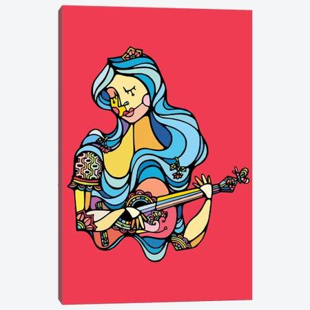 The Singer Canvas Print #NIN61} by Ninhol Canvas Wall Art