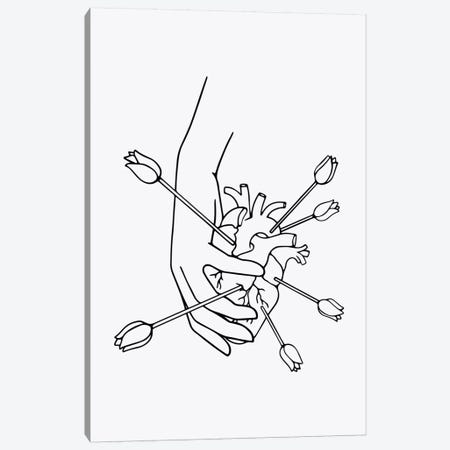 From A Full Heart Canvas Print #NIN75} by Ninhol Canvas Wall Art