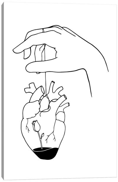 How Can You Mend A Broken Heart Canvas Art Print