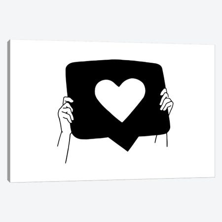 I Need Your Heart Canvas Print #NIN82} by Ninhol Canvas Art