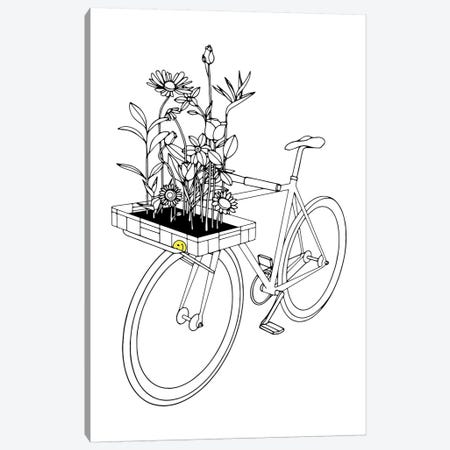 Wherever Flowers Go Canvas Print #NIN90} by Ninhol Canvas Art Print