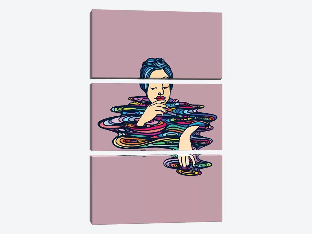 All Colors Inside Me by Ninhol 3-piece Art Print