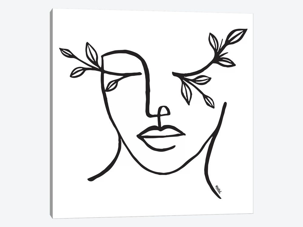 Beauty Is In The Eye Of The Beholder by Ninhol 1-piece Canvas Wall Art