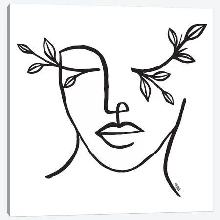 Beauty Is In The Eye Of The Beholder Canvas Print #NIN96} by Ninhol Canvas Art