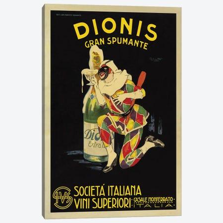 Dionis, 1925 Ca. Canvas Print #NIO1} by Plinio Codognato Canvas Artwork
