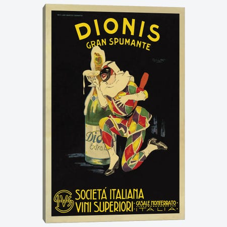 Dionis, 1925 Ca. Canvas Print #NIO1} by Plinio Codognato Canvas Artwork
