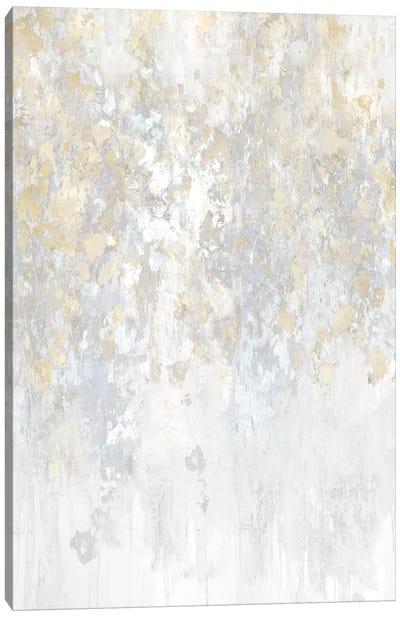Cascade Neutral Canvas Art Print