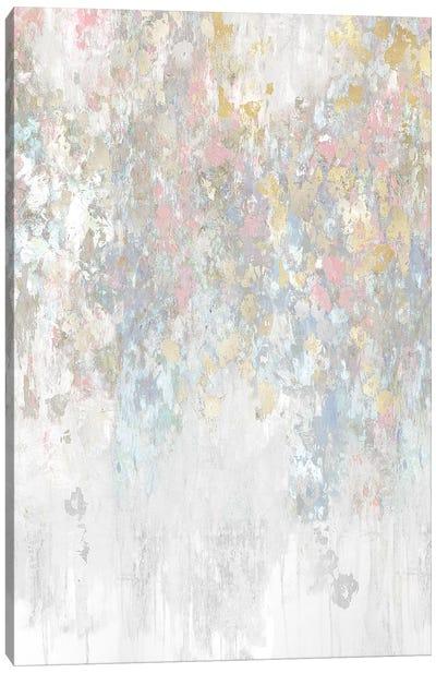 Cascade Pink Canvas Art Print