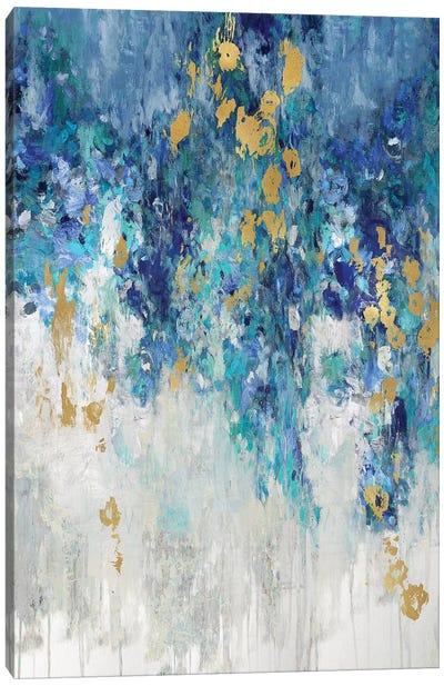 Cascading Blues I Canvas Art Print