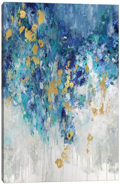 Cascading Blues II Canvas Art Print