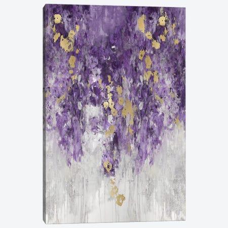 Cascading Purple Canvas Print #NIR22} by Nikki Robbins Canvas Artwork
