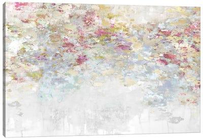 Charmed Magenta & Aqua Canvas Art Print