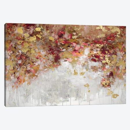 Charmed Red & Gold Canvas Print #NIR28} by Nikki Robbins Canvas Artwork