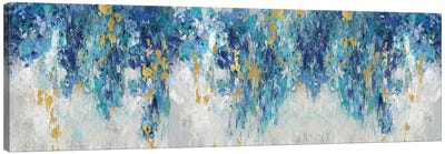 Charmed with Blues Canvas Art Print