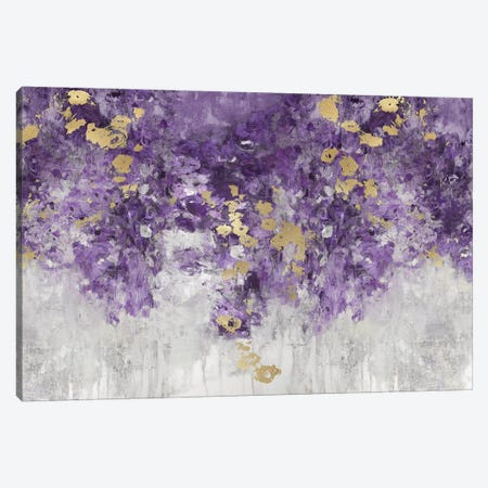 Charmed Purple Canvas Print #NIR36} by Nikki Robbins Canvas Artwork