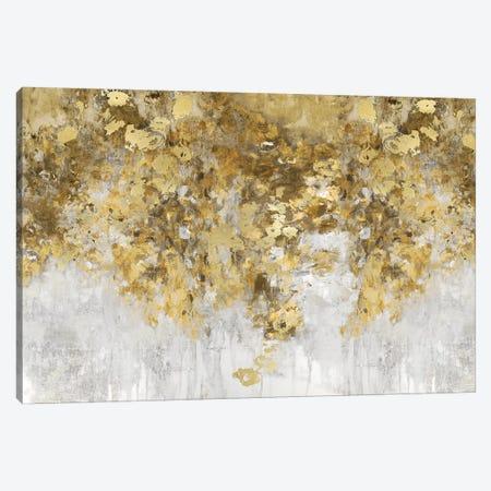 Charmed Amber & Gold Canvas Print #NIR37} by Nikki Robbins Canvas Artwork
