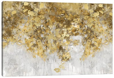 Charmed Amber & Gold Canvas Art Print