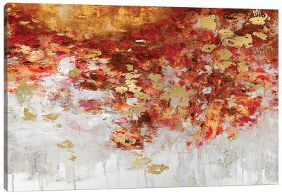 Charmed with Reds Canvas Art Print