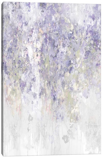 Cascade Lavender Canvas Art Print