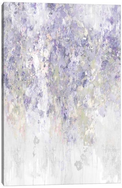 Cascade Lavender Canvas Art Print
