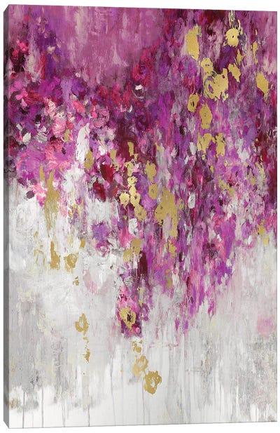 Cascade Magenta Canvas Art Print
