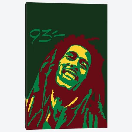 Bob Marley Canvas Print #NIT12} by 9THREE Art Print