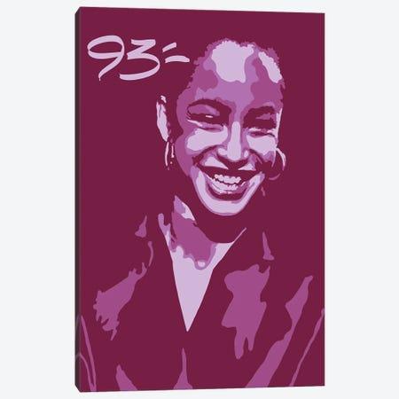 Sade Canvas Print #NIT15} by 9THREE Canvas Wall Art