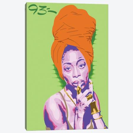 Erykah Badu Canvas Print #NIT18} by 9THREE Art Print
